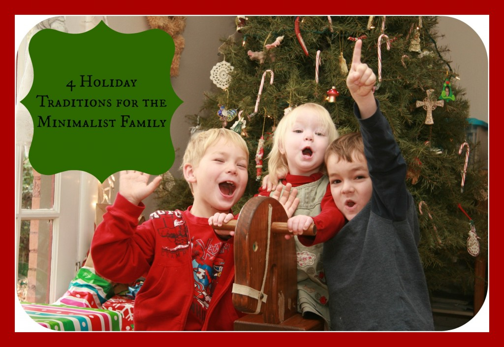 4 holiday traditions