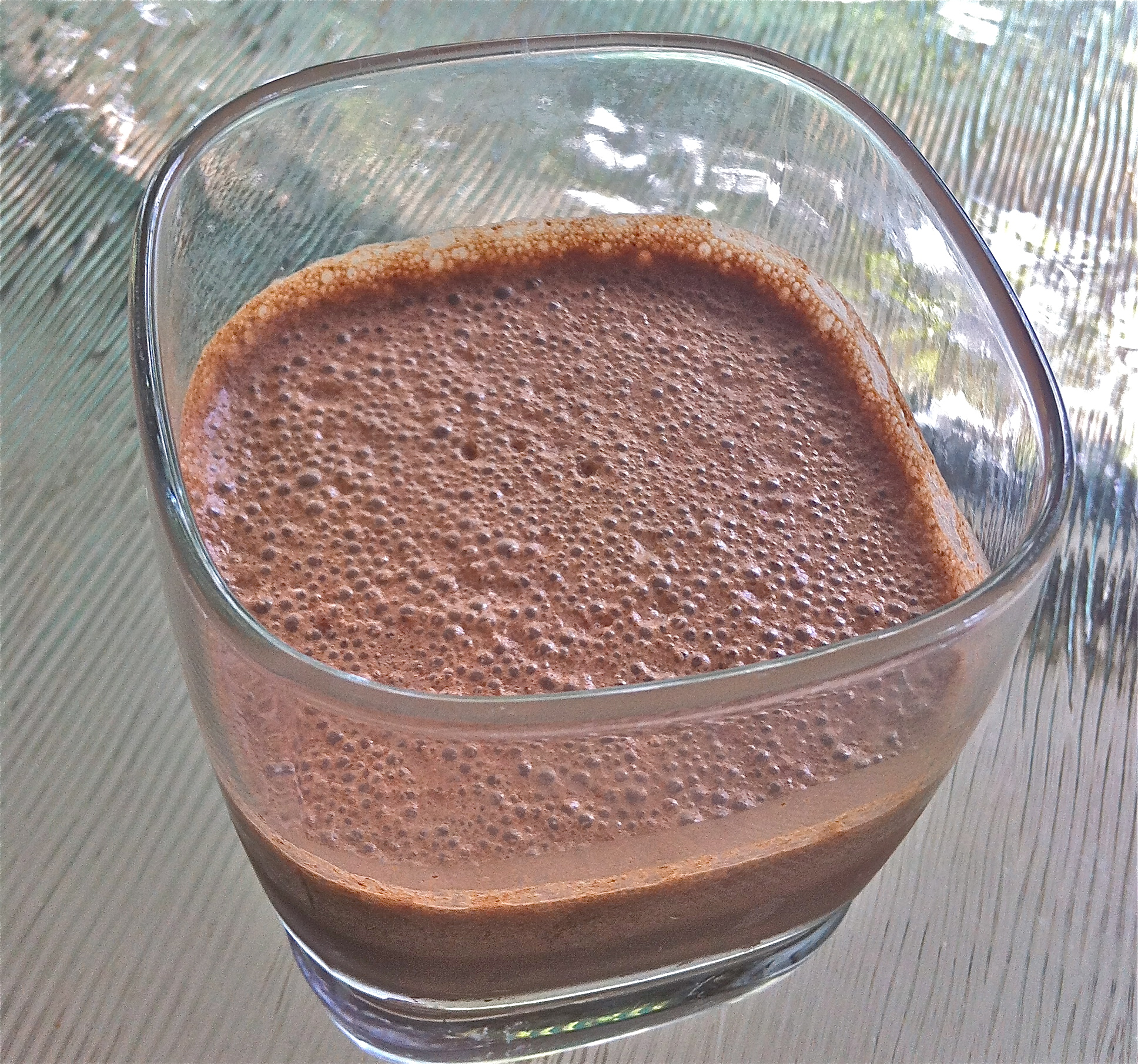 Chocolate Eggnog – delicious and nutrient dense