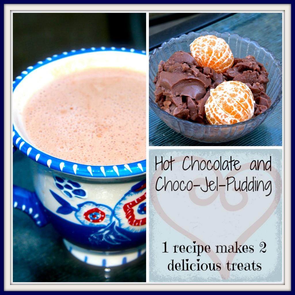 hot chocolate jel pudding