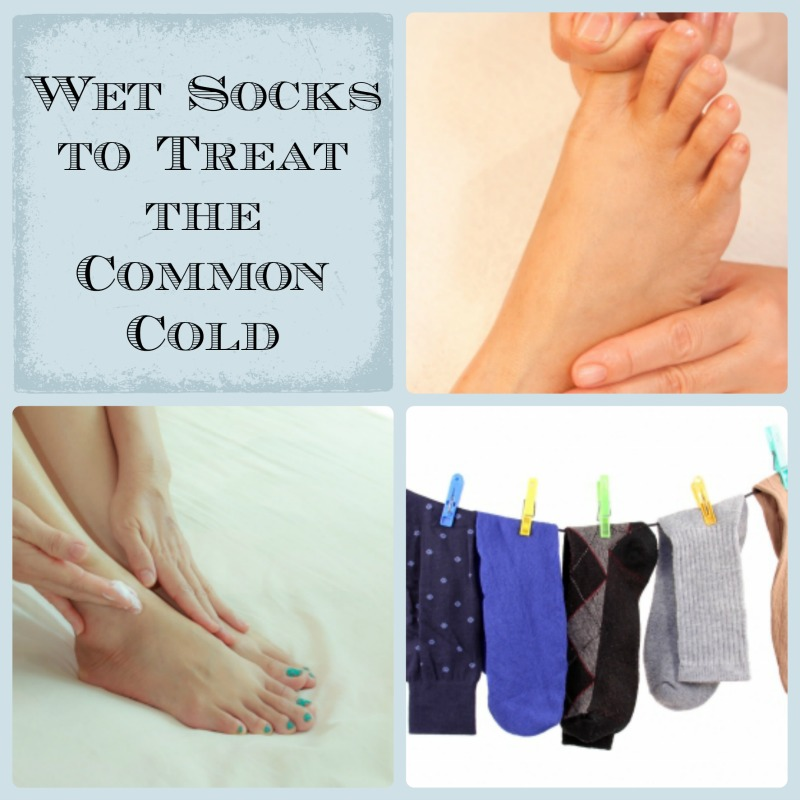 wet socks treat the common cold