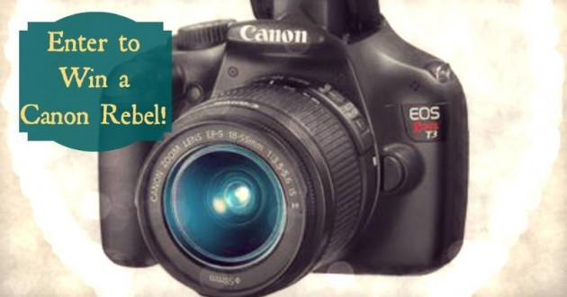 January Camera Giveaway!!!