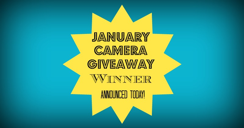 And the January Giveaway Winner is…