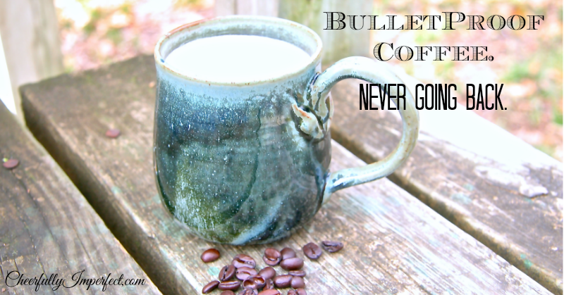 "My version of ""Bulletproof Coffee"""