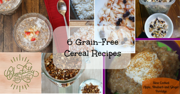 6 Amazing Grain-Free Cereal Recipes – Hot and cold and delicious