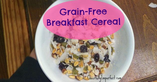 Grain-Free Breakfast Cereal