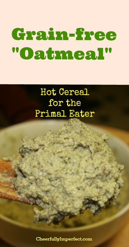 grain free oatmeal tall
