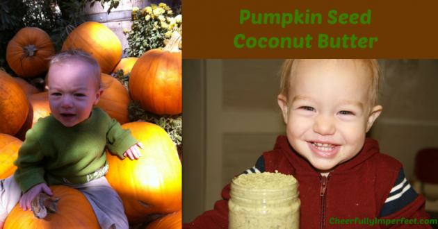 Pumpkin Seed Coconut Butter