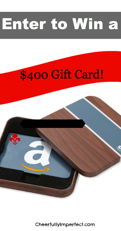win a $400 gift card