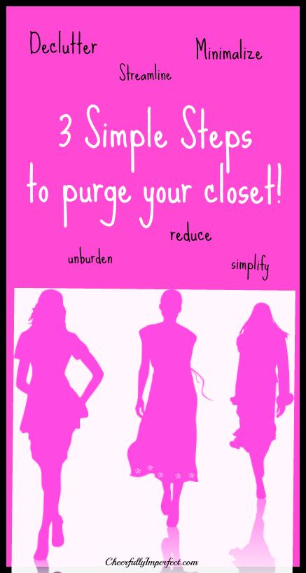 closet purge tall