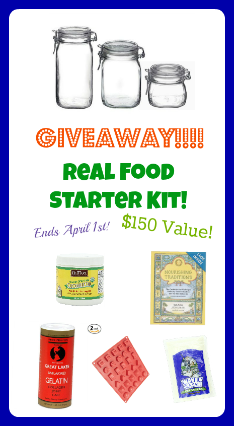 real food starter kit giveaway