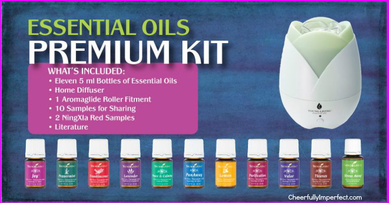 Essential Oils Sign Up