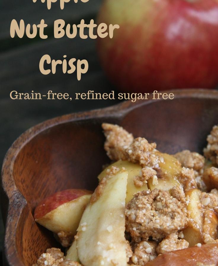 Apple Nut Butter Crisp