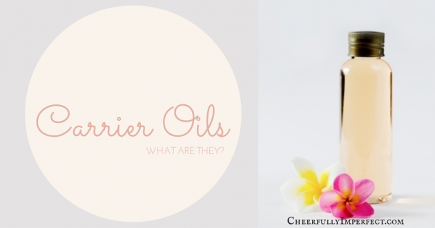Carrier Oils – Safely diluting essential oils