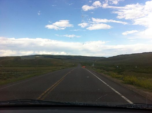 The beautiful middle of nowhere in Wyoming