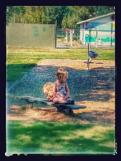 Playing at the park in Chilliwack