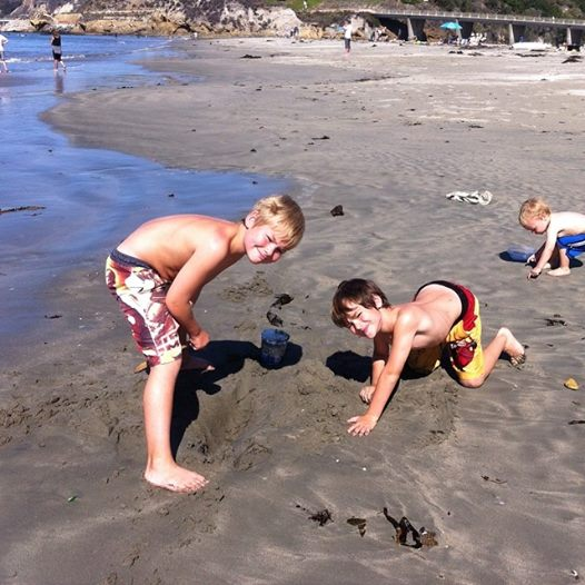 Building Sandcastles at Avila Beach