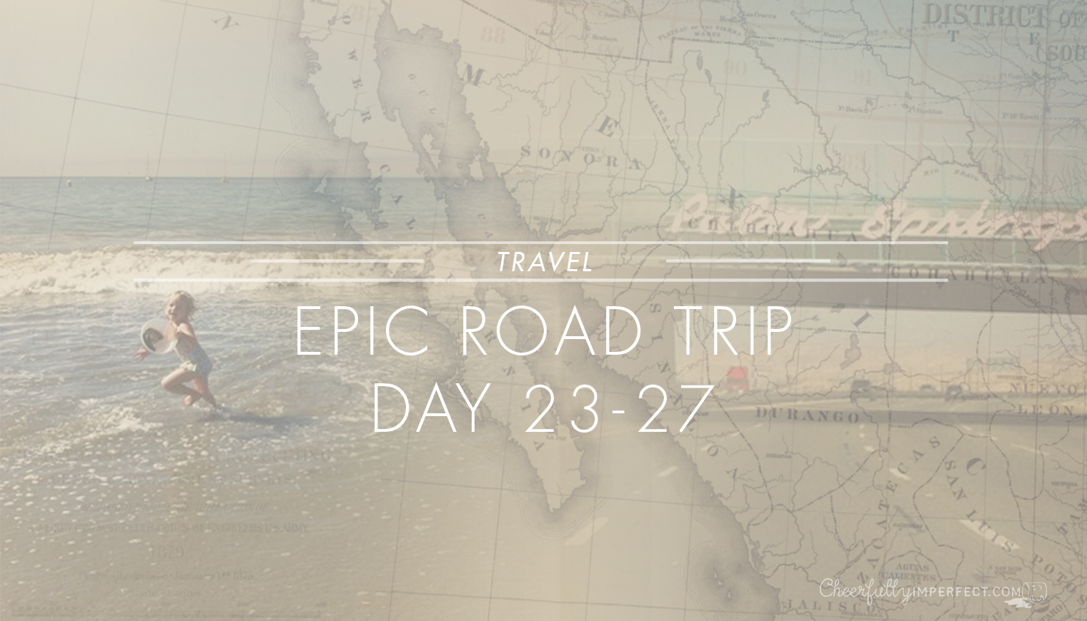 Epic Road Trip – Day 23-27 – The California Redwoods, coast and desert