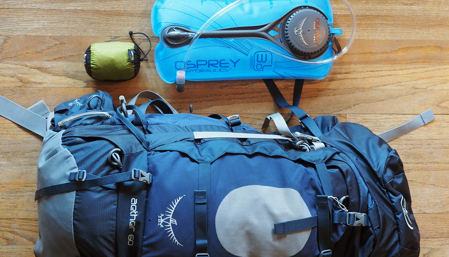 First Impressions: Backpack and Accessories