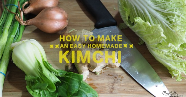 How to Make an Easy Homemade Kimchi