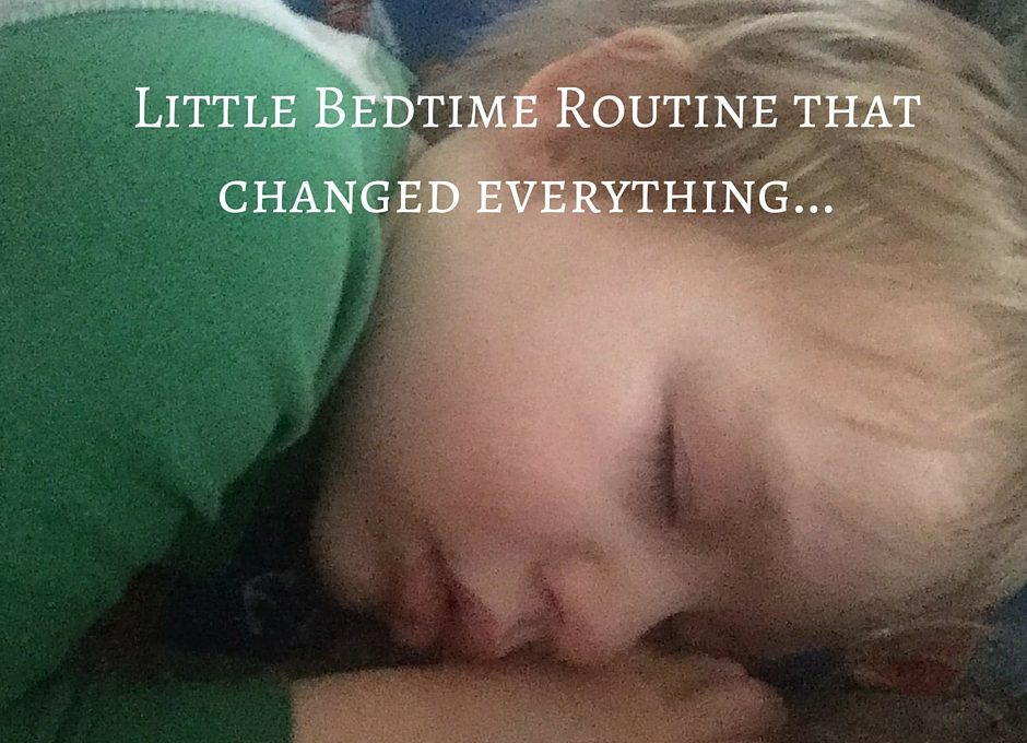 One Little Bedtime Routine that Changed Everything!