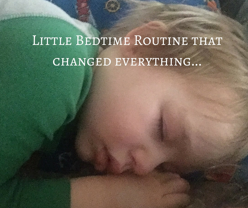 Little Bedtime Routine that changed everything...