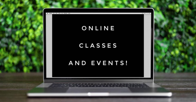Join us for Online Events!